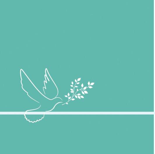 Ansicht 2 - Einladungskarte zur Konfirmation floral