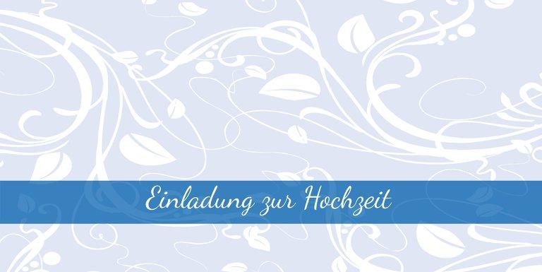Ansicht 3 - Hochzeit Einladung Blättertraum