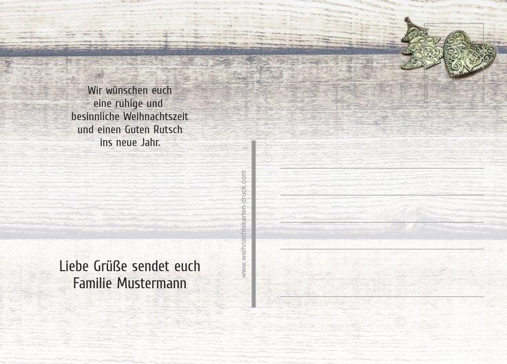 Ansicht 3 - Grußkarte Kugelrahmen