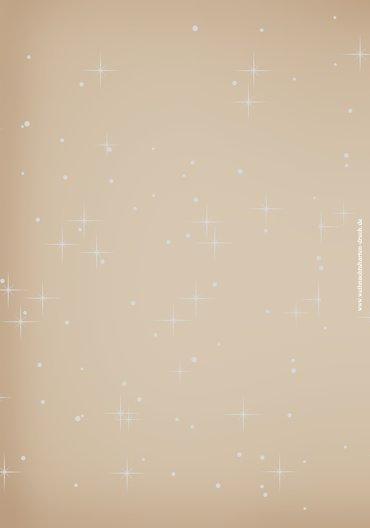 Ansicht 2 - Menükarte Sternenhimmel