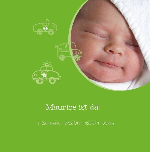 Ansicht 3 - Geburtskarte Mobil