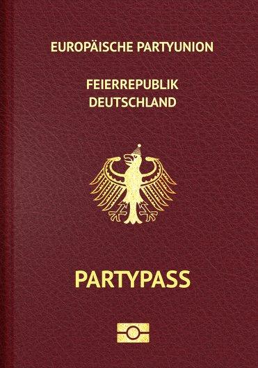 Ansicht 3 - Geburtstagseinladung Pass