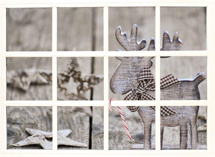 Ansicht 3 - Foto Grußkarte Holzelch