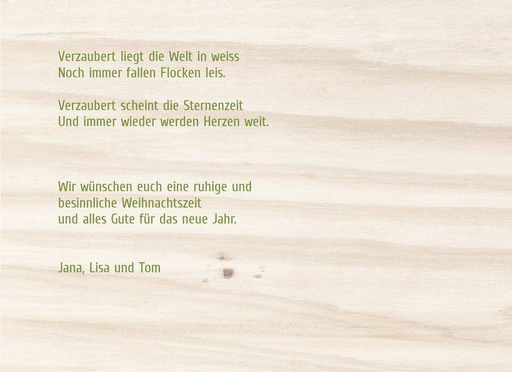 Ansicht 5 - Foto Grußkarte Holzelch
