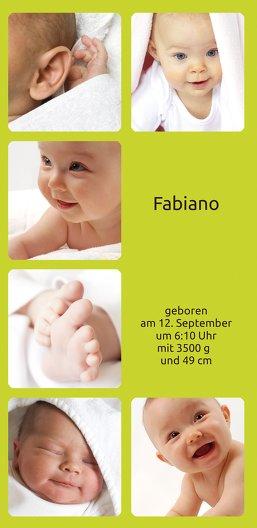 Ansicht 3 - Babykarte Album