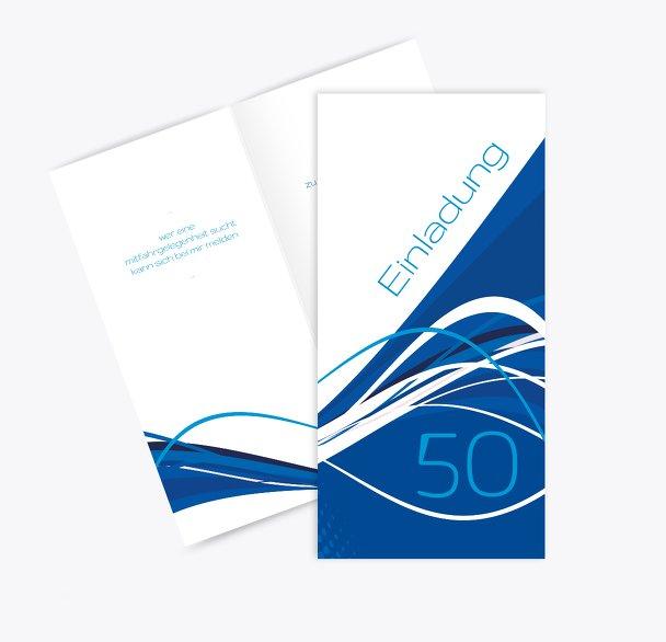 Einladungen Welle 50