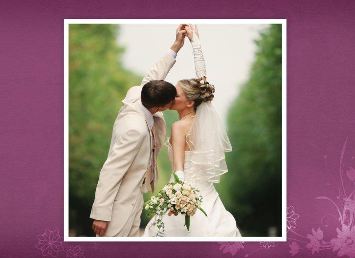 Ansicht 5 - Hochzeit Danke 3 Liebeserfüllung