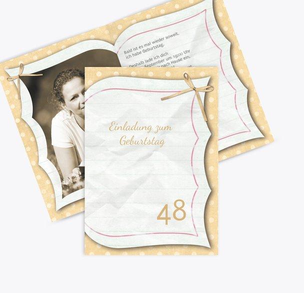 Geburtstagskarte Gedichtebuch Foto