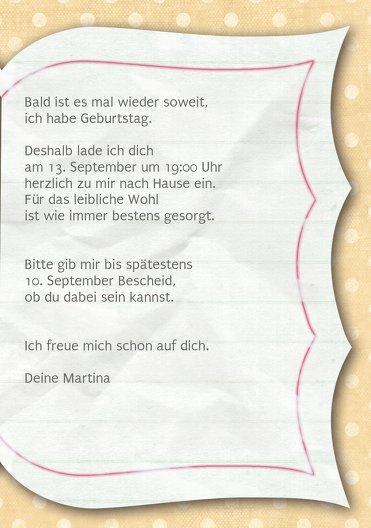 Ansicht 5 - Geburtstagskarte Gedichtebuch Foto