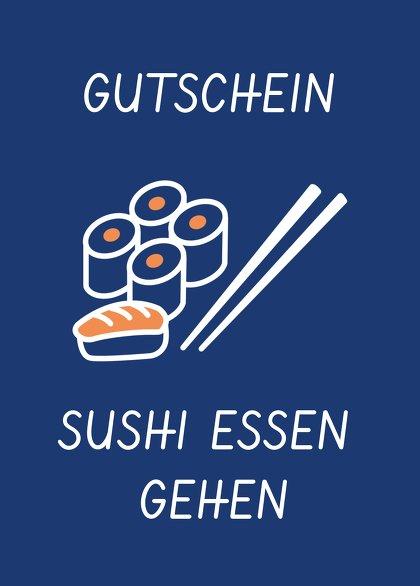 Ansicht 2 - Gutschein zum Geburtstag Sushi essen gehen