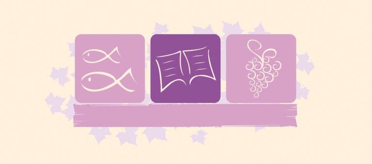 Ansicht 3 - Firmung Tischkarte Blatt