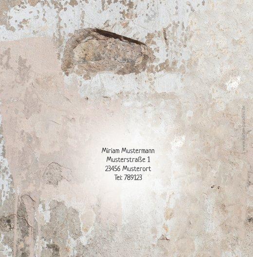 Ansicht 2 - Einladung Foto Striche an der Wand 60