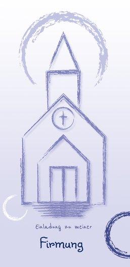 Ansicht 3 - Firmung Einladungskarte Kirche