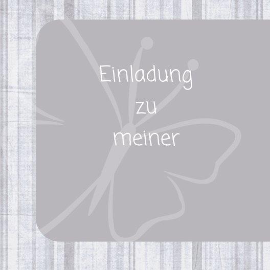 Ansicht 4 - Konfirmation Einladung Butterfly 2
