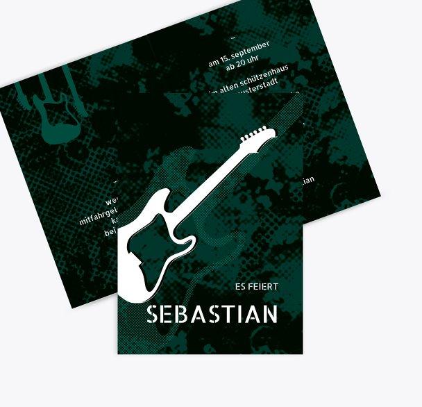 Geburtstagskarte Guitar