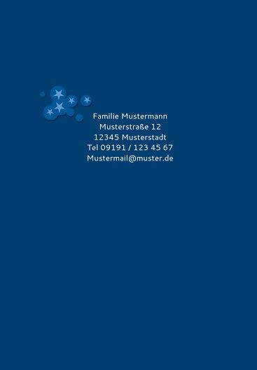 Ansicht 2 - Konfirmation Einladung Star