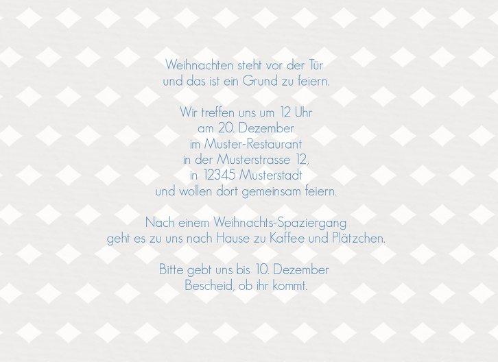 Ansicht 5 - Einladung Tannenbaum Banner