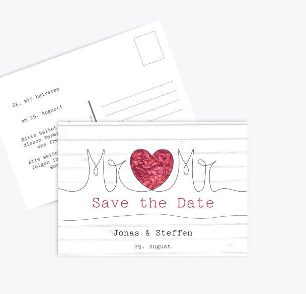 Save-the-Date Mr&Mr