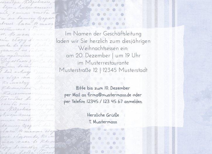Ansicht 5 - Einladung Geschenkpapier