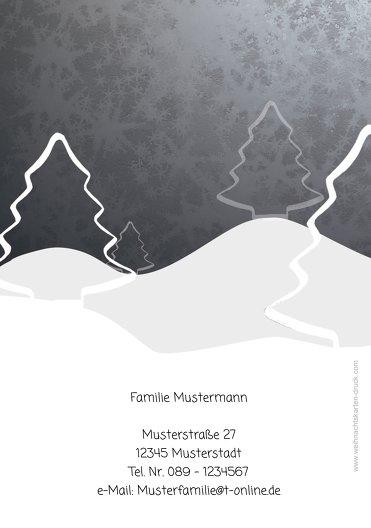 Ansicht 2 - Foto Grußkarte Knopfmännchen