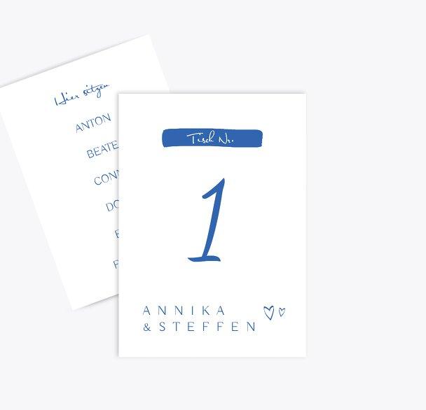 Hochzeit Tischnummer Buchstabenrätsel