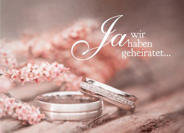 Ansicht 3 - Hochzeit Dankeskarte Ringe