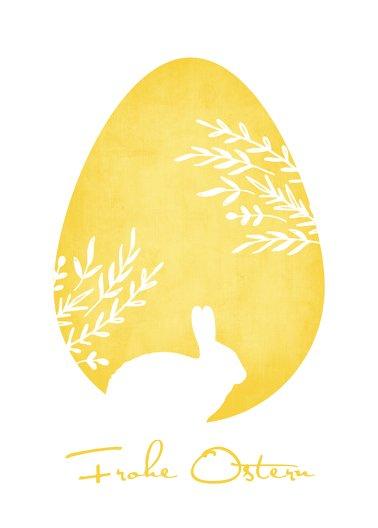 Ansicht 2 - Osterkarte Ei