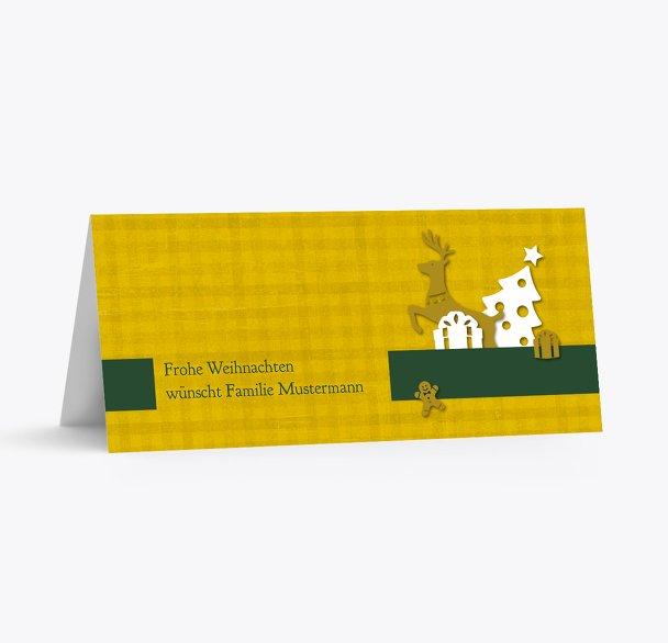 Tischkarte Geschenke