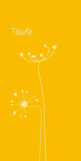 Ansicht 2 - Taufe abstrakte Blumen
