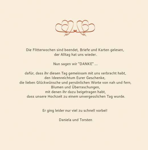 Ansicht 5 - Hochzeit Dankeskarte Turteltäubchen
