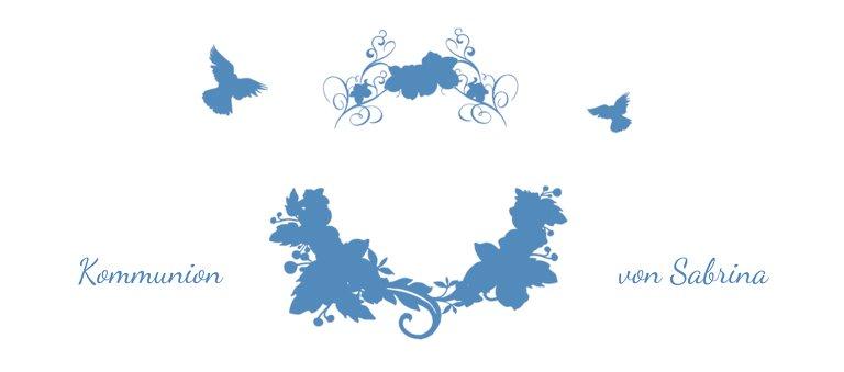 Ansicht 3 - Tischkarte Kommunion Vogel