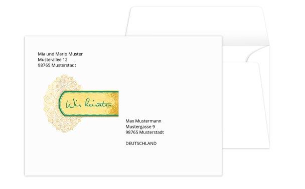 Umschlag Mumbai