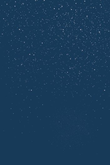 Ansicht 2 - Dankeskarte starry sky