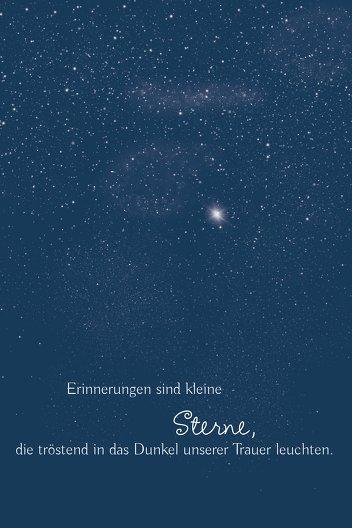 Ansicht 3 - Dankeskarte starry sky