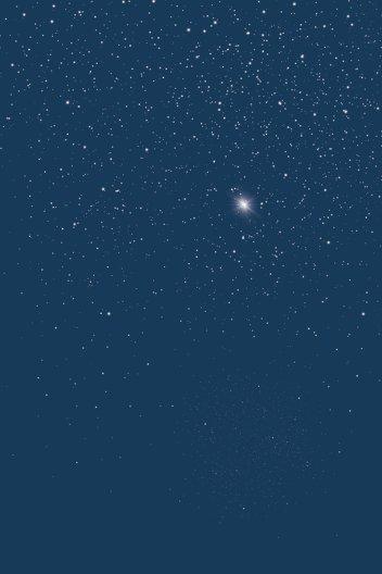Ansicht 4 - Dankeskarte starry sky