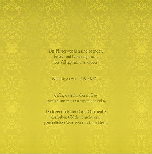 Ansicht 5 - Hochzeit Danke Eheversprechen