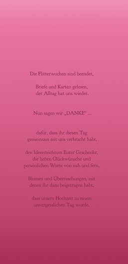 Ansicht 5 - Hochzeit Danke Din Ringetausch