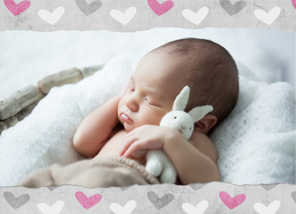 Ansicht 4 - Baby Dankeskarte Cute Baby