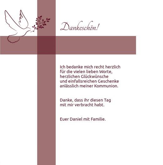 Ansicht 5 - Kommunion Danke Glaubensbote
