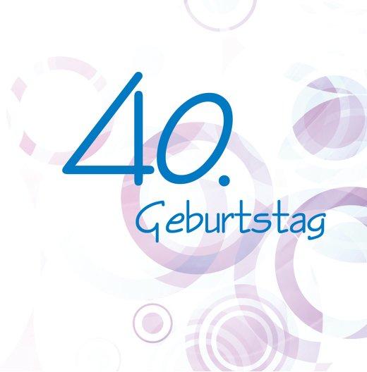 Ansicht 2 - Einladungskarte colorful circles 40 Foto