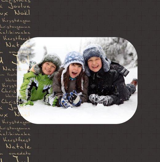 Ansicht 4 - Foto Grußkarte Schriftkerze