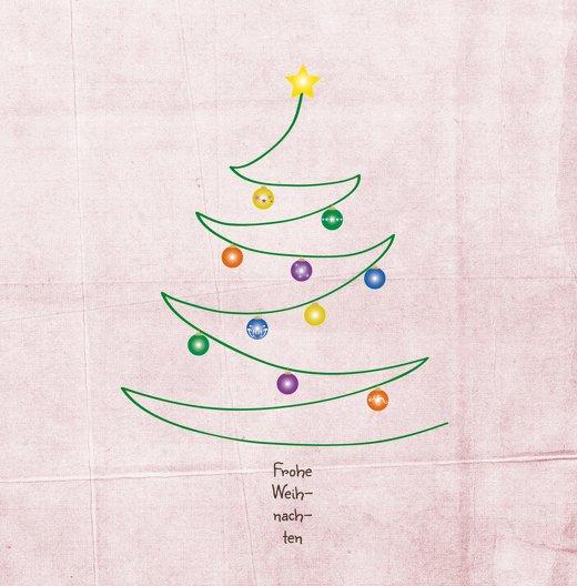 Ansicht 3 - Grußkarte Weihnachtsbaum