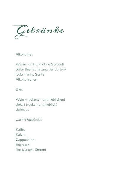 Ansicht 4 - Hochzeitskarten_Menü Zahrte Blume