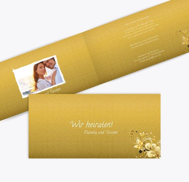 Hochzeit Einladung Din Liebeswunder