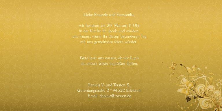 Ansicht 5 - Hochzeit Einladung Din Liebeswunder