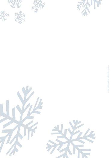 Ansicht 2 - Menükarte Schneesturm