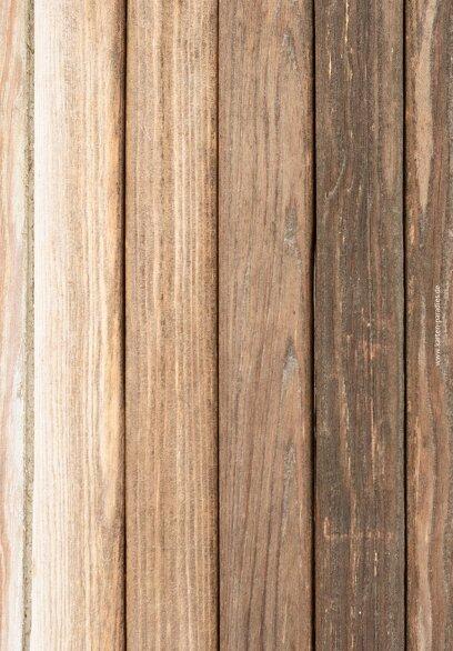Ansicht 2 - Kirchenheft Umschlag Vintage Holz