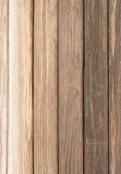 Ansicht 4 - Kirchenheft Umschlag Vintage Holz