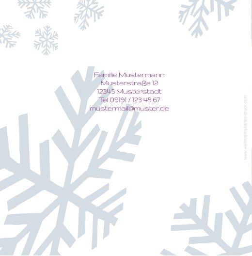 Ansicht 2 - Foto Einladung Schneesturm