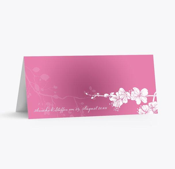 Hochzeit Tischkarte Cherry Blossom